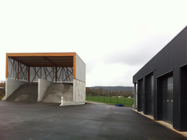 03 centre technique benestroff abri à sel et garages projet