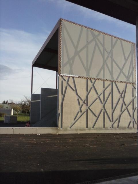 05 centre technique benestroff abri à sel vu depuis  garages projet